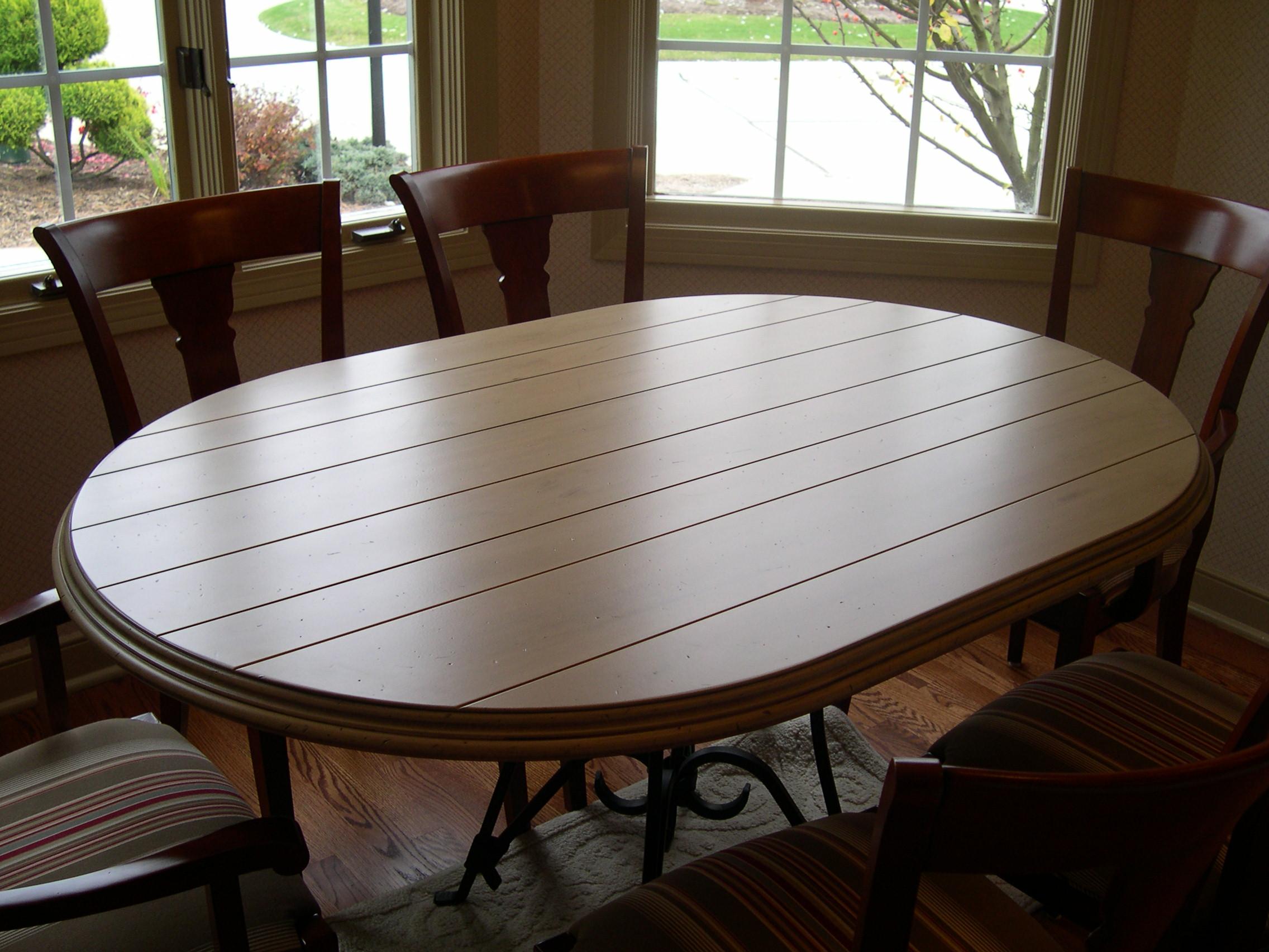 Custom built table top